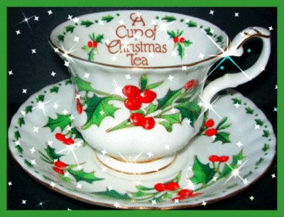 9:15am-Christmas Tea