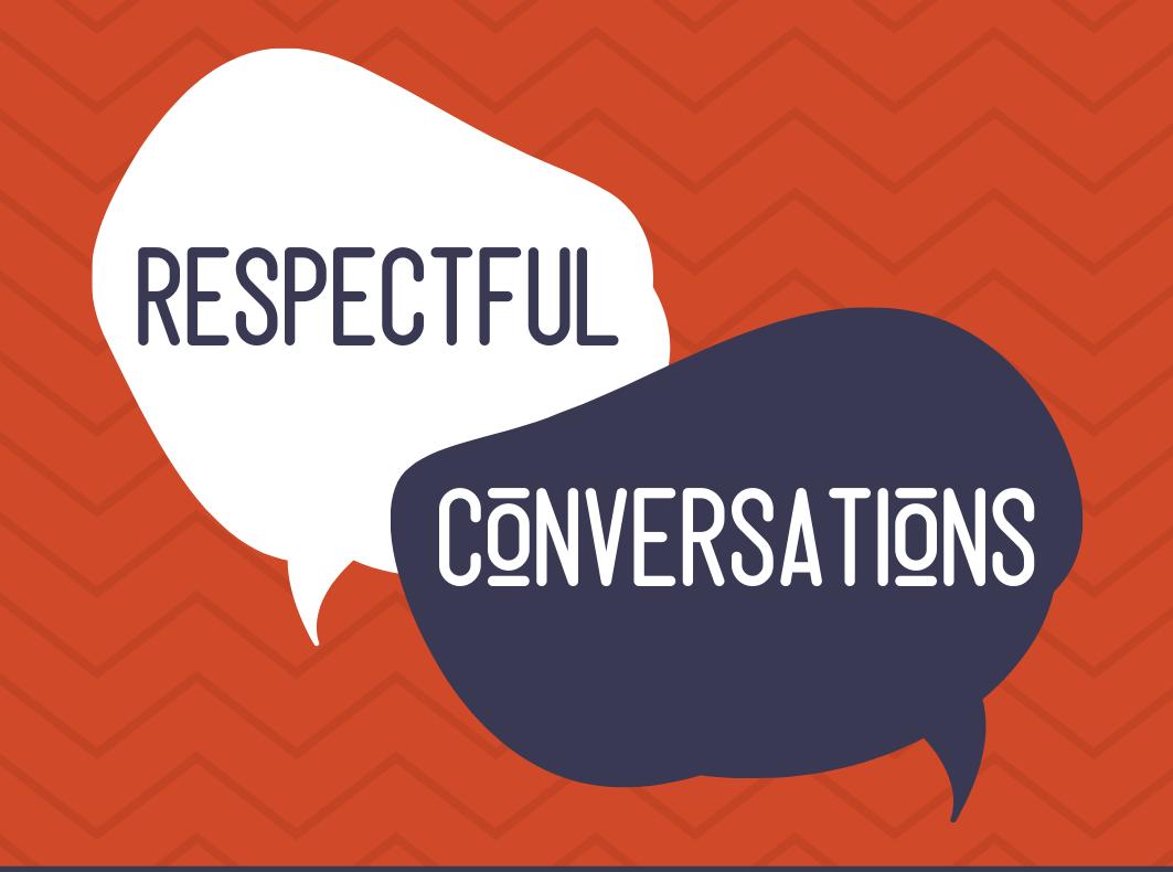 6:30pm Respectful Conversations Facilitator Training